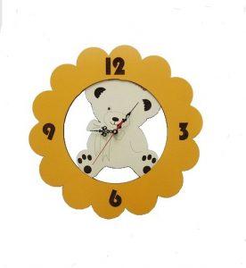 ساعت اتاق بچه طرح خرس KT-9503Y