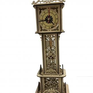 ساعت چوبی دکوری