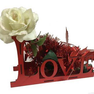 جای گل برای روز ولنتاین و سال نو برای افرادی که دوستشان دارید
