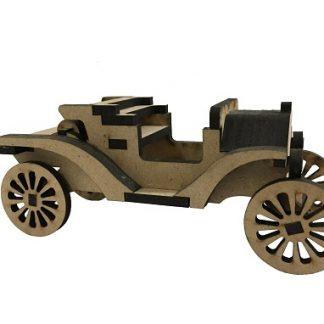 ماشین چوبی قدیمی