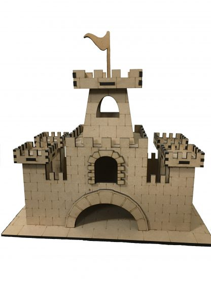 wooden castle small size