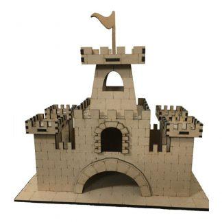 قلعه چوبی پازلی سایز متوسط